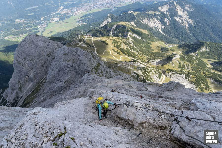 Klettersteig Alpspitze : Alpspitze über alpspitz ferrata bergtour klettersteig bilder