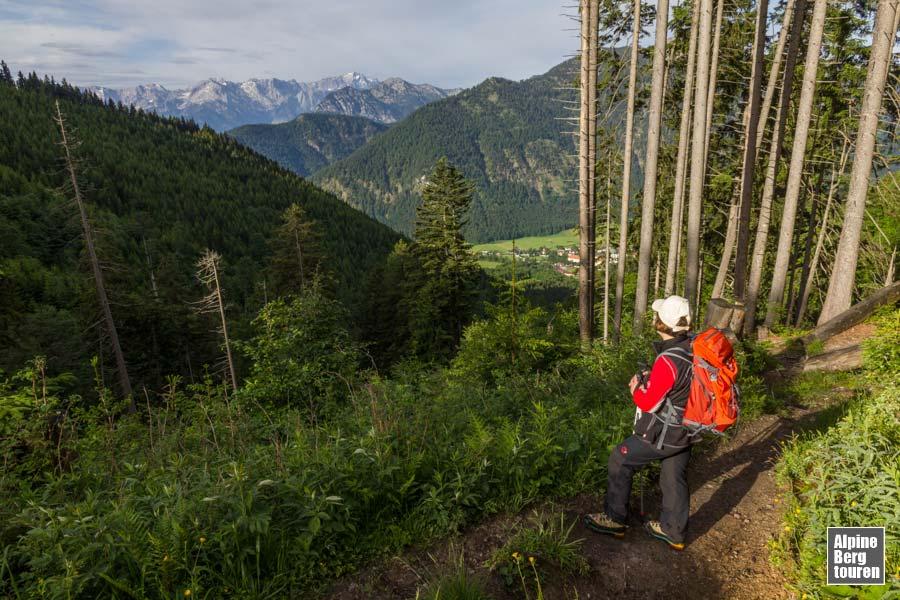 Ettaler Mandl Klettersteig : Ettaler mandl bergtour klettersteig bilder