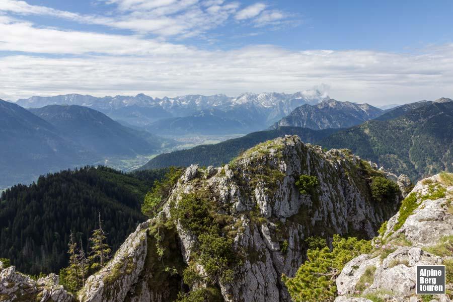 Klettersteig Am Ettaler Mandl : Ettaler mandl bergtour klettersteig bilder