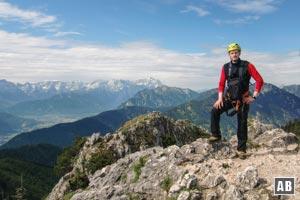 Klettersteig Am Ettaler Mandl : Ettaler mandl bergtour klettersteig info