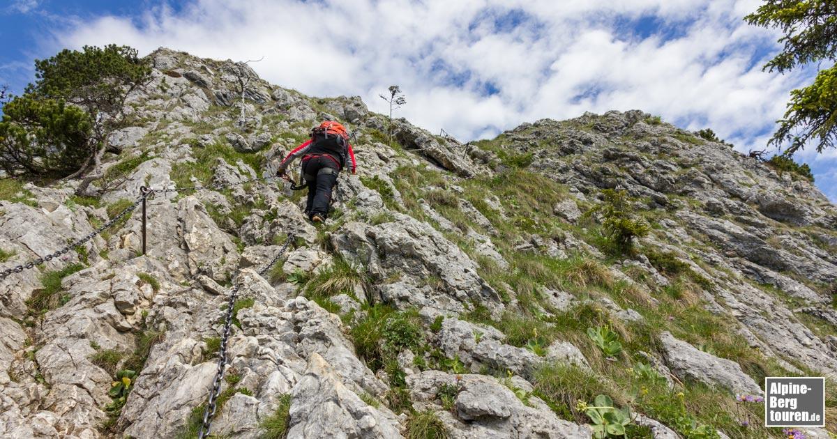 Klettersteig Oostenrijk : Ettaler mandl bergtour klettersteig info