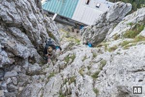 Klettersteig Buchstein : Roß und buchstein wanderung info