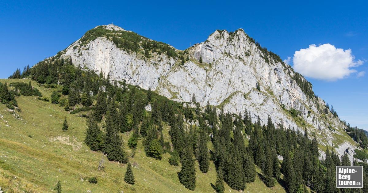 Klettersteig Tegernsee : Panorama klettersteig himmel henne u bergseensucht