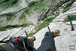 Klettersteigset Zugspitze : Zugspitze über höllental bergtour klettersteig info