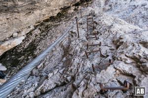 Klettersteig Zugspitze Stopselzieher : Zugspitze über stopselzieher bergtour klettersteig info
